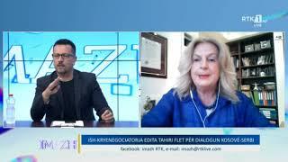 Imazh - Ish-kryenegociatorja Edita Tahiri flet për dialogun Kosovë-Serbi 17.06.2020