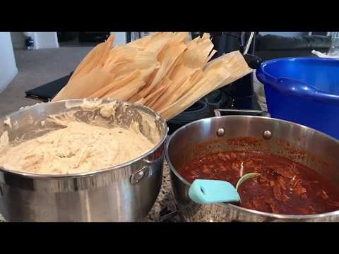 Download How to make pork tamales in red chili sauce Mp4 HD Video and MP3