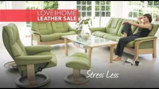 Berkowitz 'Love your home leather sale' TV Commercial
