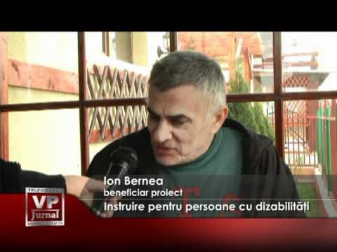 Instruire pentru persoane cu dizabilităţi