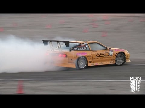Crazy Nissan Drift Cars at Holley LS Fest