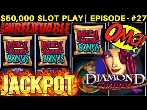 MUST SEE!! 3 Handpay Jackpots On High Limit Diamond Queen Slot & Cats Slot | SEASON 6 | EPISODE #27