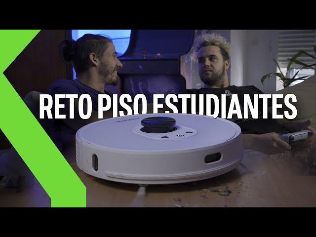Robot aspirador vs. piso de estudiantes ¡Sometemos al Netbot LS27 a pruebas extremas! | Reto Xataka