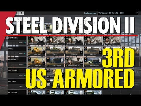 3RD (US) ARMORED! Steel Division 2 Battlegroup BETA Preview #13