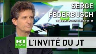 Affaire Benalla : la dernière interview de Serge Federbusch sur RT !