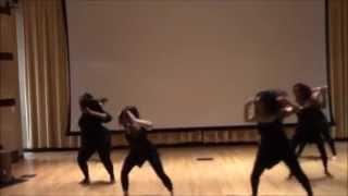 My West African Dance Class performing KuKu