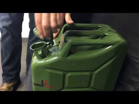 Demonstration: Jerry Can Lid