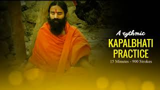 Rhythmic Music for Kapalbhati Practice |  Baba Ramdev | Shining Forehead Breathing Exercise