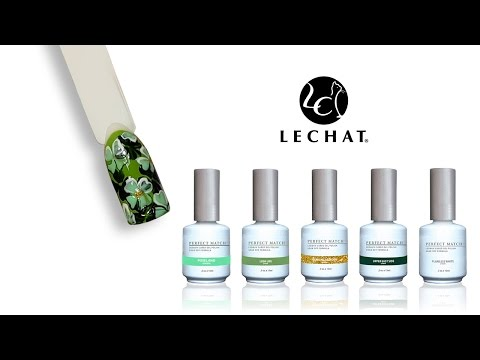 St. Patrick's Day Nail Tutorial - 4 Leaf Clovers
