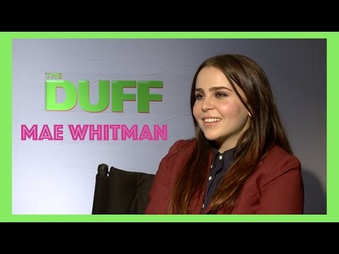 Mae Whitman Opens Up About Arrested Development, Harry Potter, & The DUFF!