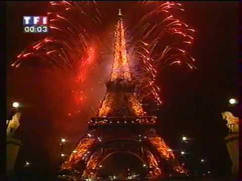 TF1 - Passage A L'an 2000 & Première Page De Pub De L'an 2000 1er Janvier 2000