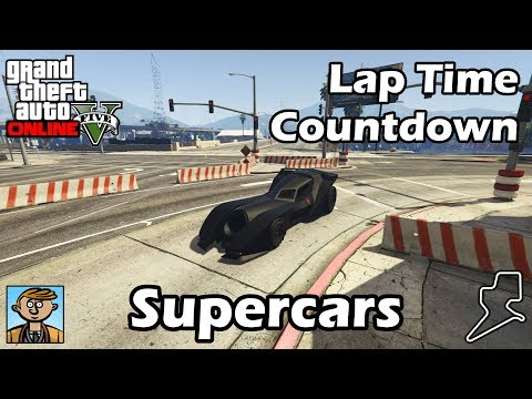 Fastest Supercars (2018) - GTA 5 Best Fully Upgraded Cars Lap Time Countdown