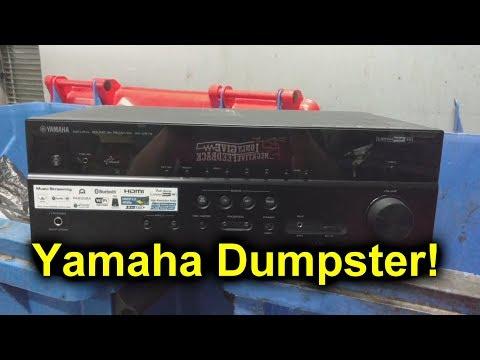 EEVblog #1151 - Dumpster Dive Yamaha Receiver