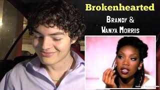 Brandy - Brokenhearted (feat. Wanya Morris) | REACTION