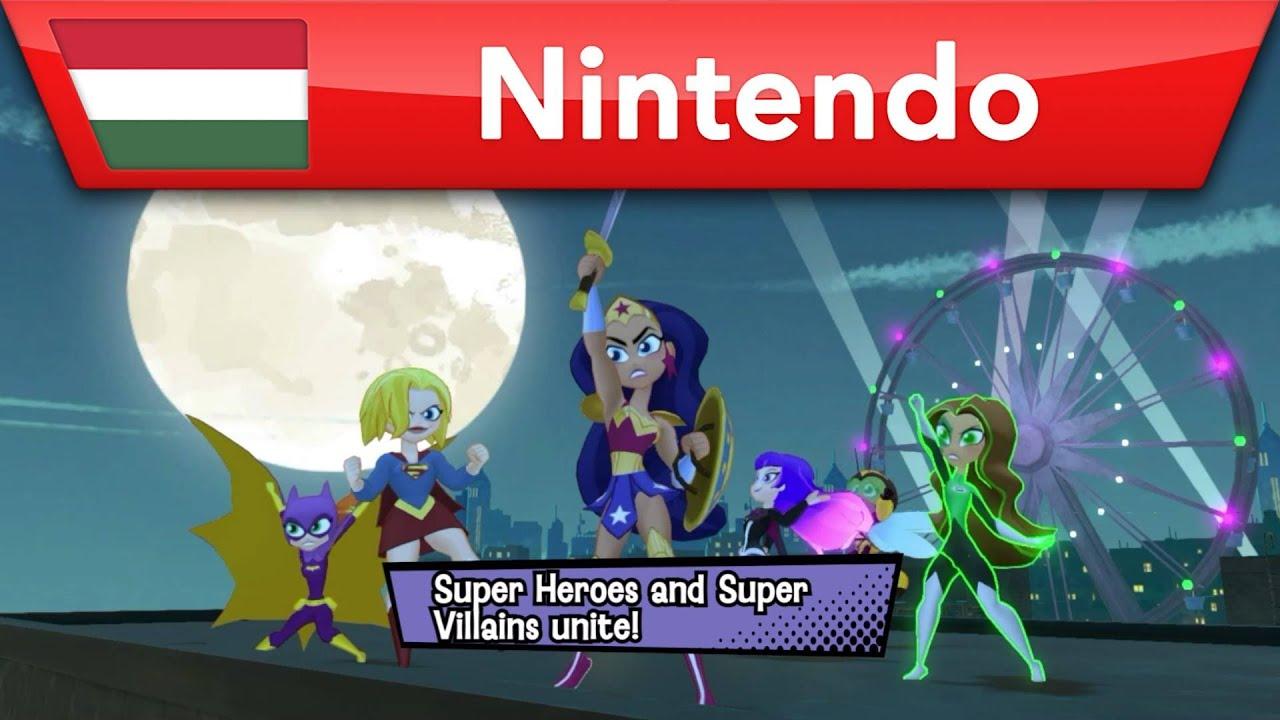 DC Super Hero Girls: Teen Power – Megjelenés: 2021.06.04.   Nintendo Switch
