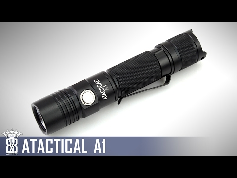 * Flashlight * ATactical A1 Taschenlampe Review | Deutsch