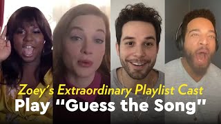 Zoey's Extraordinary Playlist Cast Play Guess the Song by POPSUGAR Girls' Guide