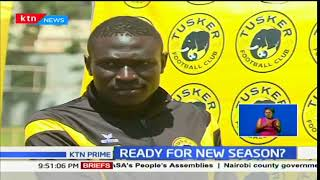 Tusker FC players unveiling