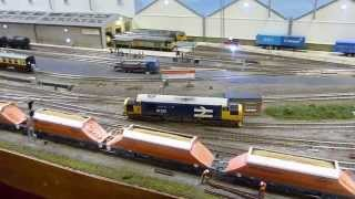 preview picture of video 'Model Railway Show - Sutton Coldfield - Apr 2012'