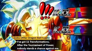 Goku After Dragon Ball Super Has 11 TRANSFORMATIONS! *NEW* Ultimate MUI Goku! Xenoverse 2 Mods