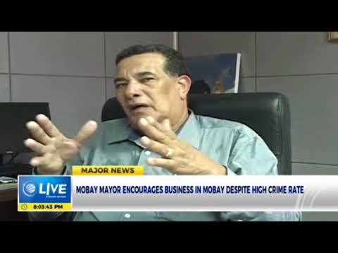 Mobay mayor encourages business in Mobay despite high crime rate
