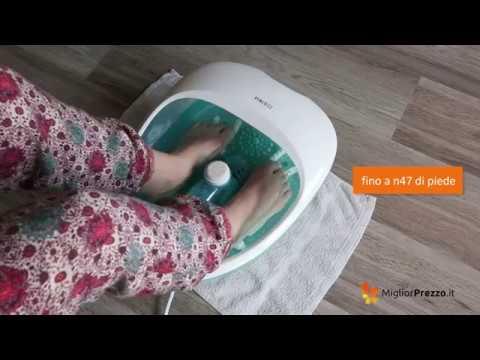 Idromassaggiatore plantare Homedics FS-250-EU Video Recensione