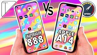 Xiaomi Mi 11 Ultra vs Apple iPhone 12 Pro Max Speed Test
