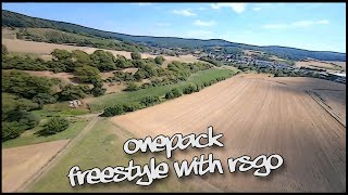 Freestyle + ReelSteady GO = ???????????? // ONEPACK // FPV Drone // DrNope FPV