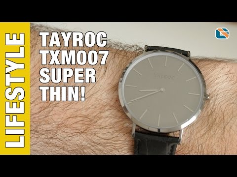 Tayroc TXM007 Watch Review – Watches Up Close & Personal