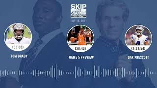 Tom Brady, NBA Finals Game 5 preview, Dak Prescott | UNDISPUTED audio podcast (7.16.21)