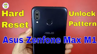 how to unlock asus zenfone max pro m1 || hard reset with pattern unlock