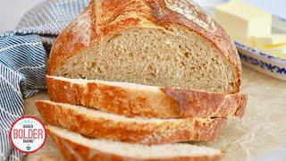 5-Ingredient Artisanal Bread Recipe For Beginners