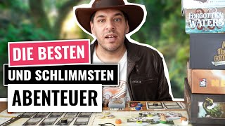Die BESTEN Abenteuer Brettspiele - und welche nicht!