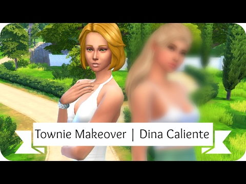 The Sims 4 | CAS: Dina Caliente (Townie Makeover Series