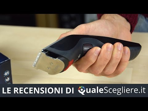 Philips HC5440/16 - Video recensione del tagliacapelli