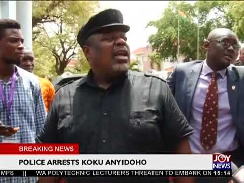 Koku Anyidoho's Interview right before he was arrested - The Pulse on JoyNews (27-3-18)