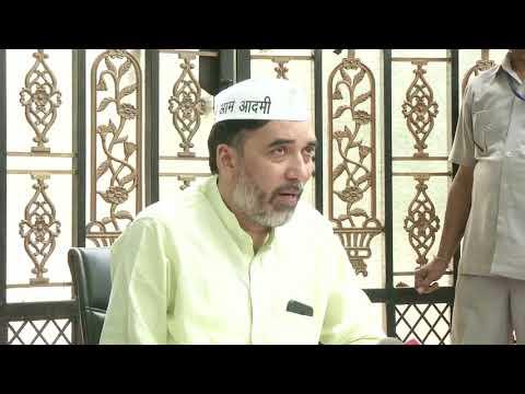 Gopal Rai briefs media on Poorna Rajya Andolan