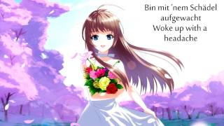 Nightcore   Musik Sein (Lyrics + Translation)
