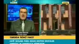 07.02.2011 TGRT Haber Beyazıt Boran Hafif suçlara para cezası