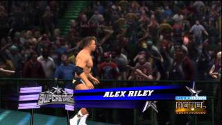 WWE '12 Alex Riley Updated Entrance [Video]