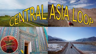 How To Travel CENTRAL ASIA - Central Asia Travel Guide - Ep 207