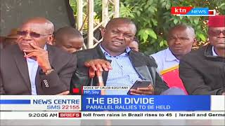 Tanga tanga wing of Jubilee vows to hold parallel BBI meetings as BBI divide widens