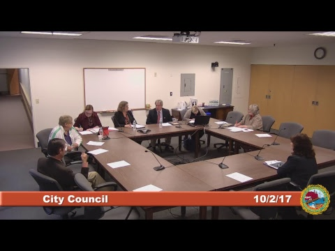 City Council Legislative Subcommittee 10.2.17