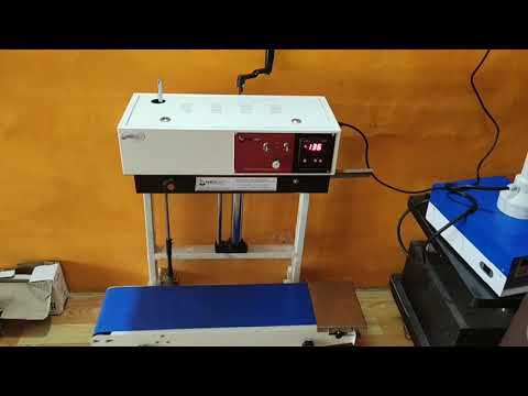 Seed Pouch Sealing  Machine
