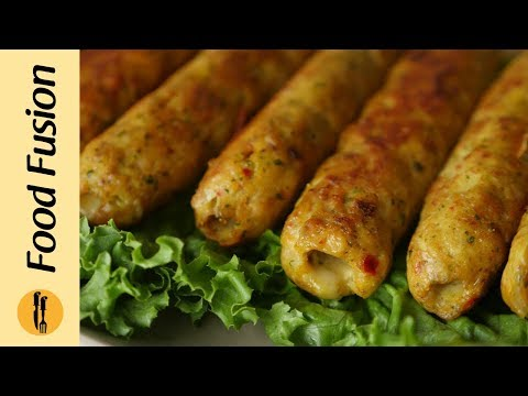 Chicken Cheese Seekh Kabab Recipe By Food Fusion