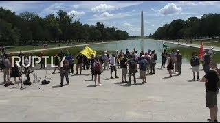LIVE: Protesters rally for