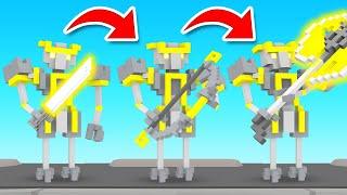 RANDOM WEAPON CHALLENGE In Clone Drone In The Danger Zone!