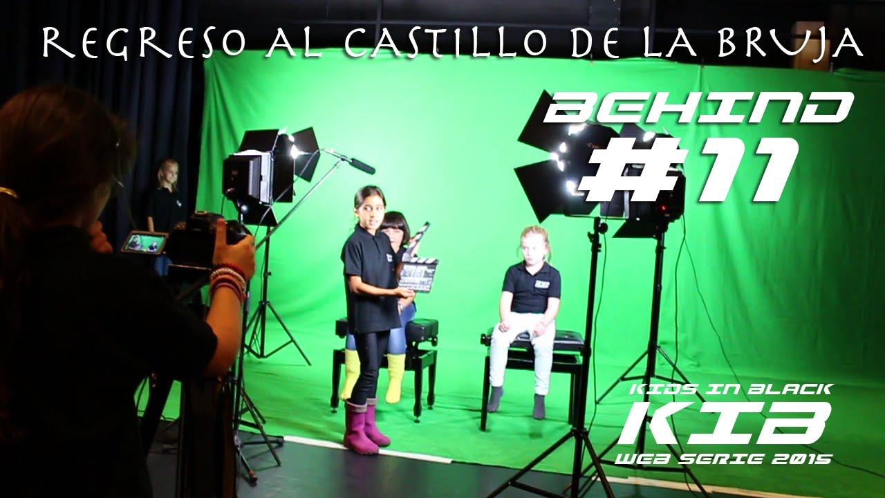 Regreso al Castillo de la Bruja - Kids In Black 2015 - Detrás de las cámaras #11