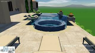 Vip3D - 3D Swimming Pool design for the Hoover family