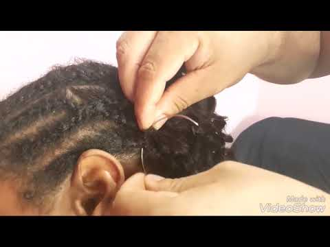 Entrelace com cabelo platinun genius